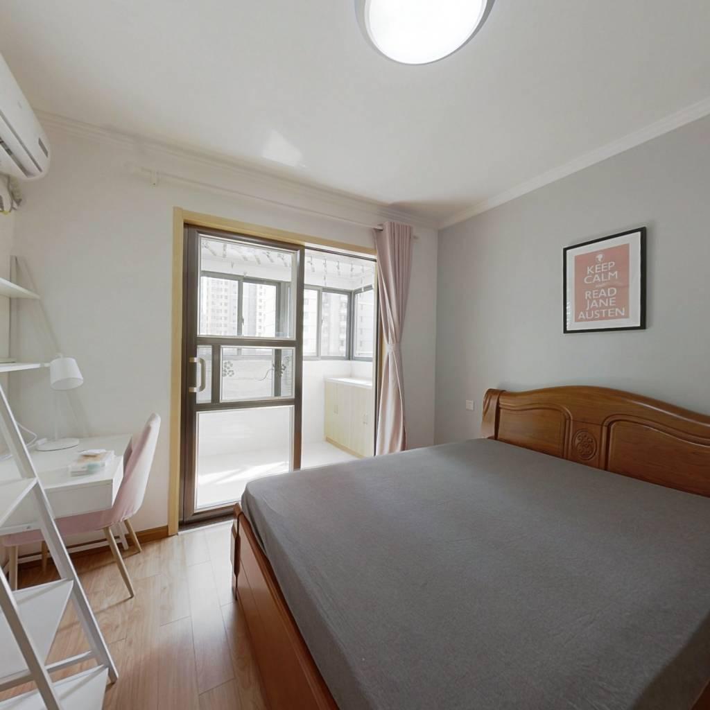 合租·天景山公寓永福苑 3室1厅 北卧室图