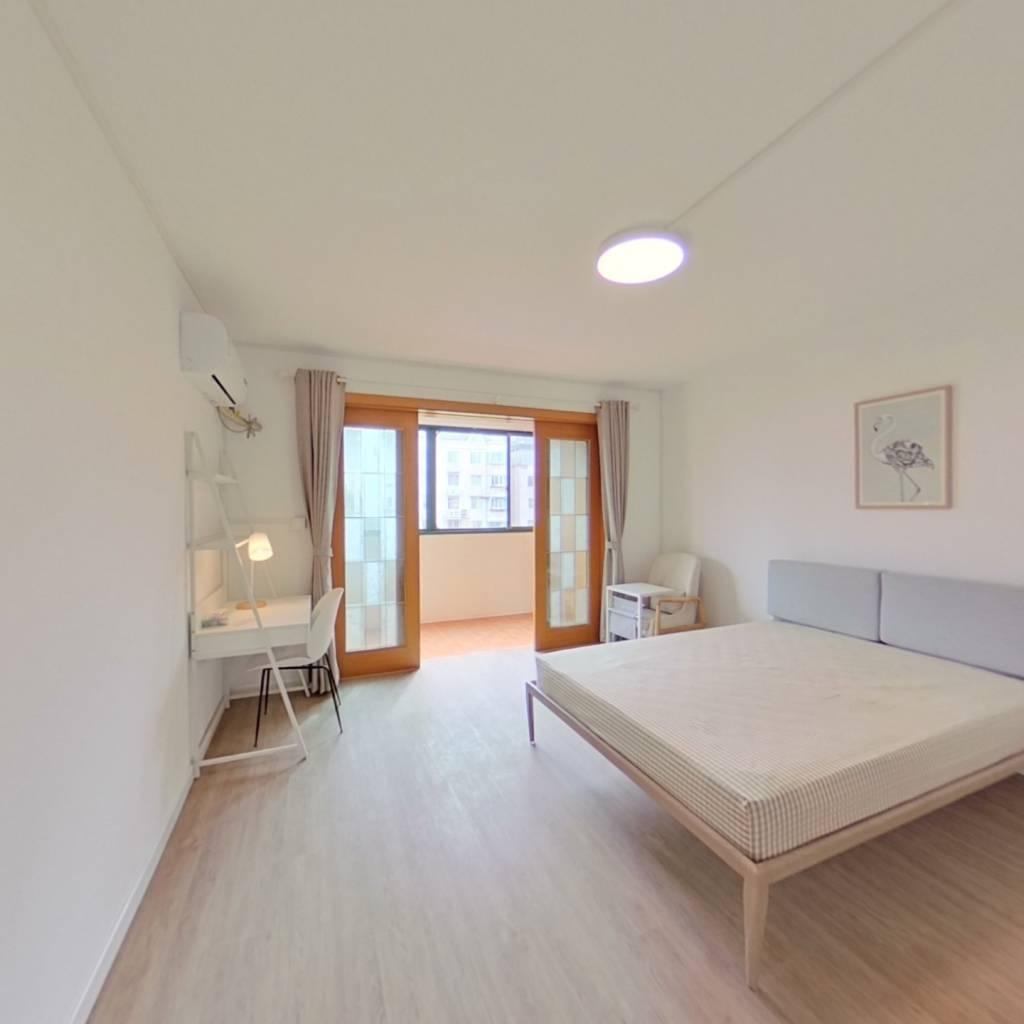 合租·永和雅园 3室1厅 北卧室图