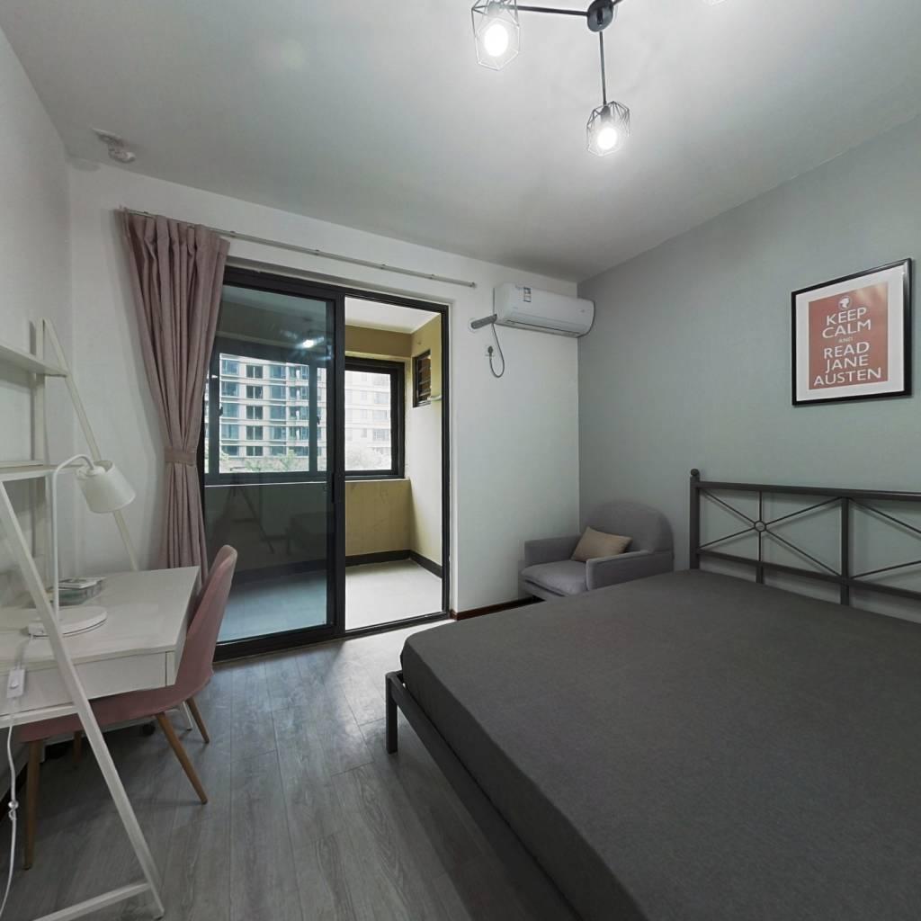 合租·三卫家园北苑 4室1厅 北卧室图