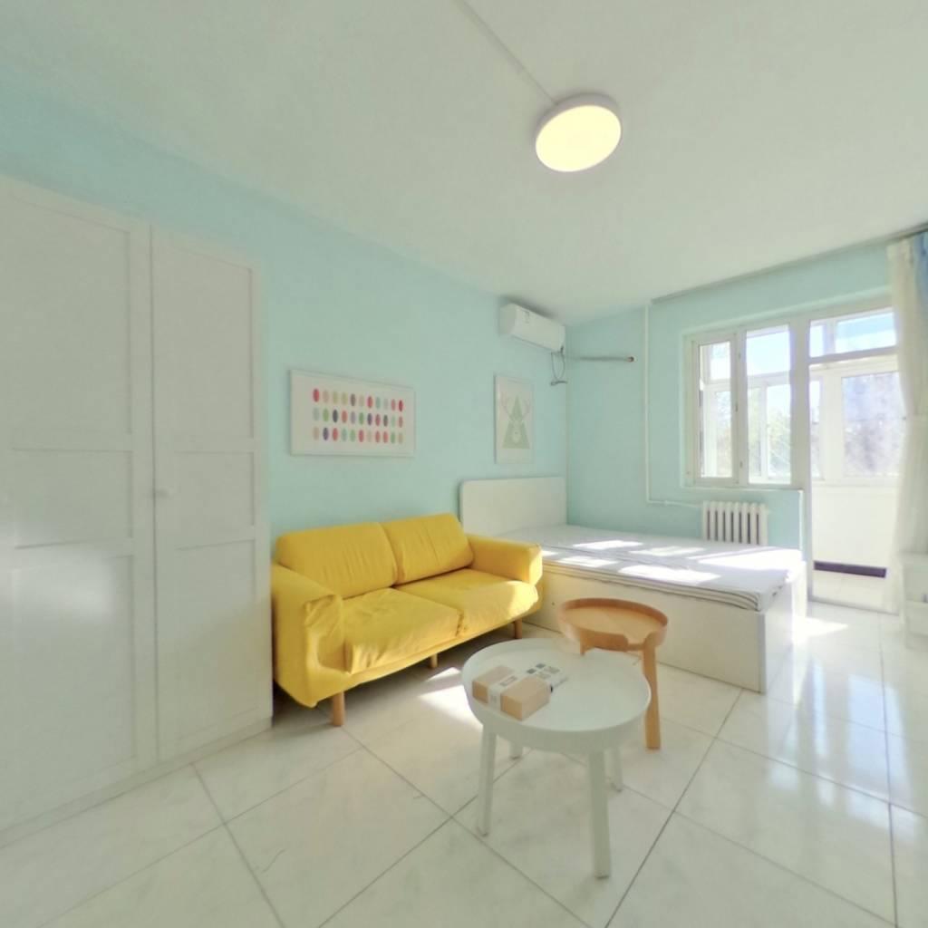 整租·北大地一里 2室1厅 东南卧室图