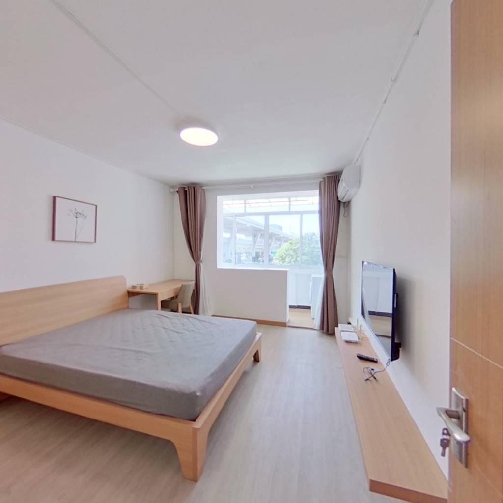 整租·闻喜小区 1室1厅 卧室图