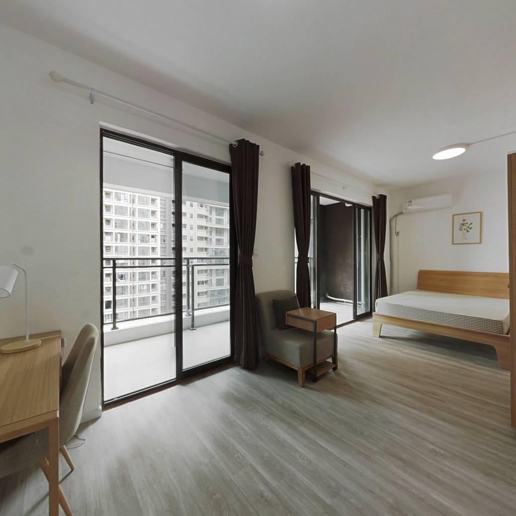 合租·北大资源颐和翡翠府 4室1厅 北卧室图