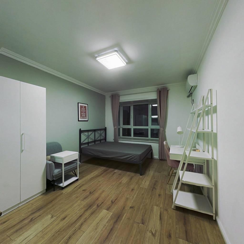 合租·大唐印象 5室1厅 南卧室图