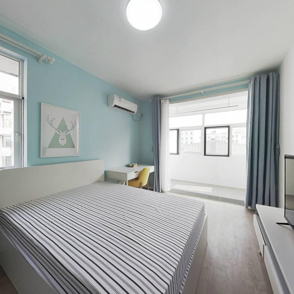 整租·白云亭小区 2室1厅 南北卧室图