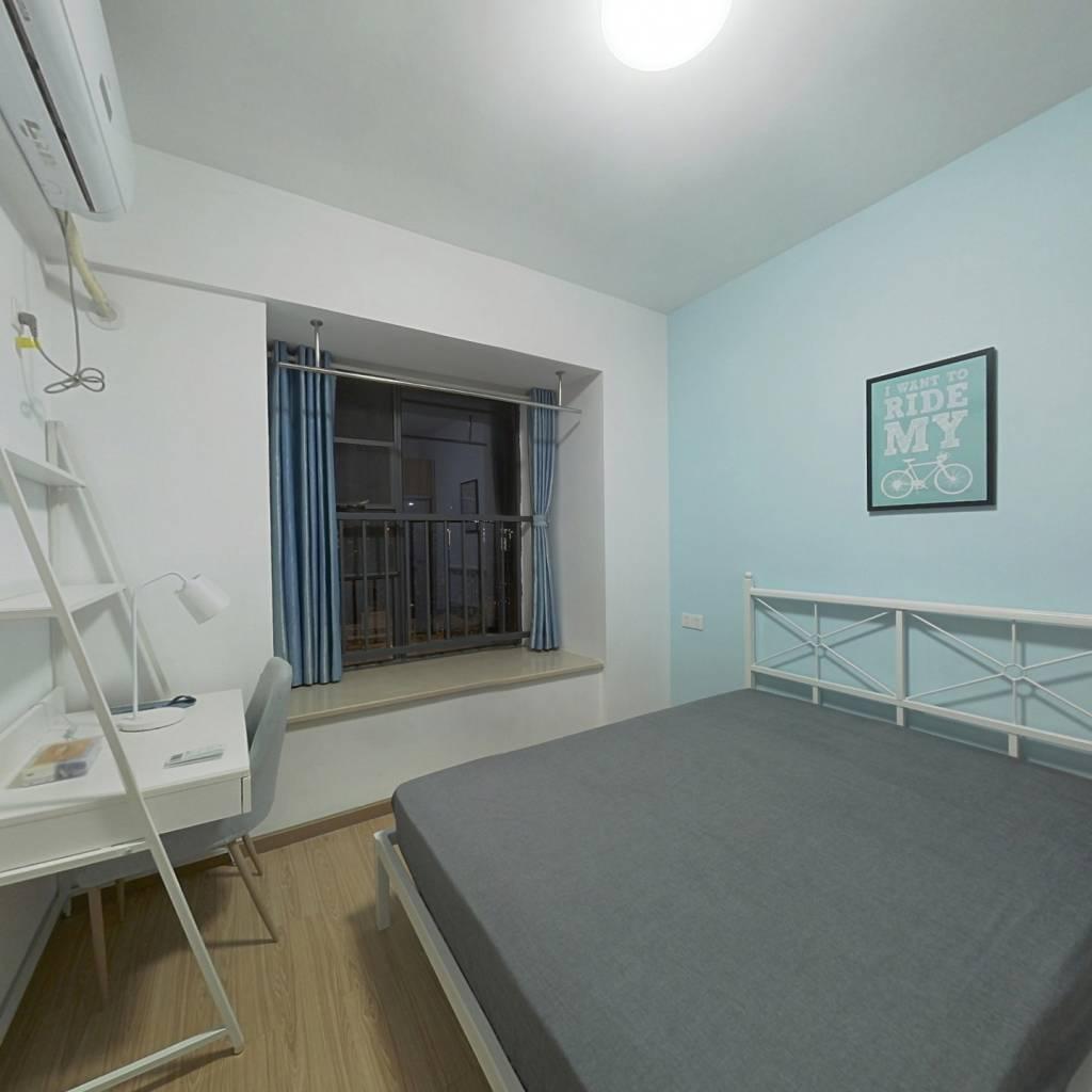 合租·红桥新城 3室1厅 南卧室图