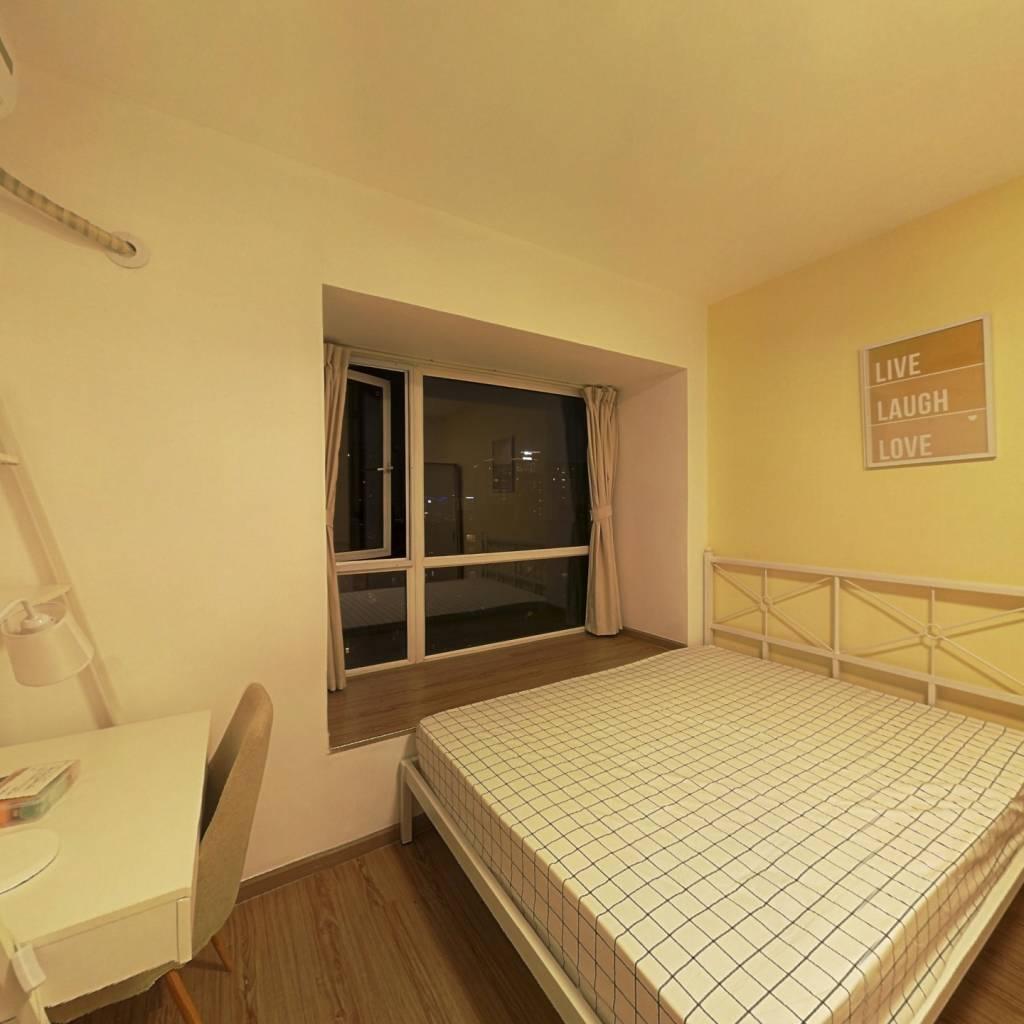 合租·天府长城柏南郡 5室1厅 南卧室图