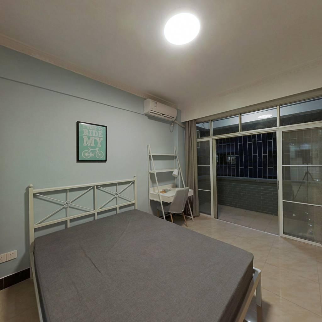 合租·体育西路 3室1厅 北卧室图