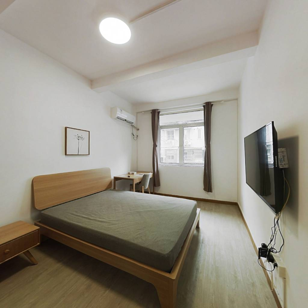 整租·凤城三村 1室1厅 南卧室图