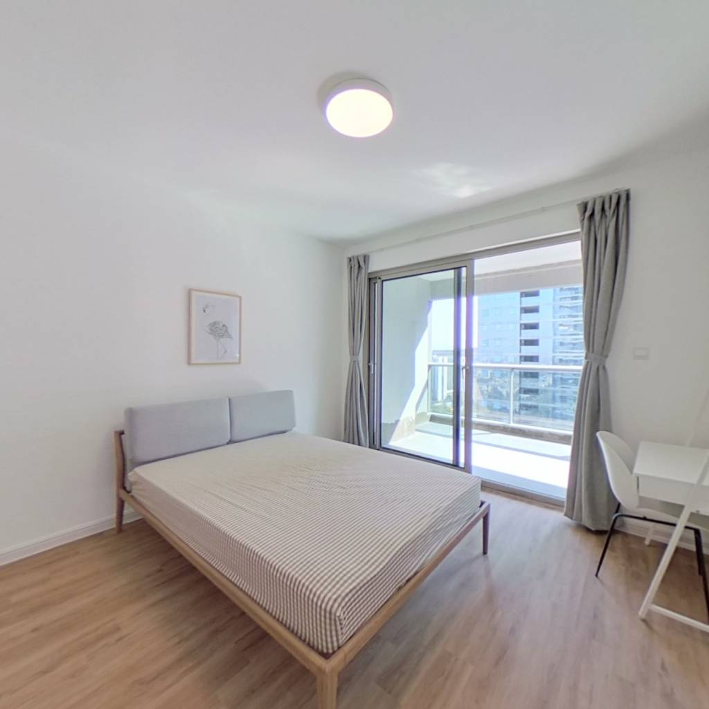 合租·欧美金融城 4室1厅 南卧室图