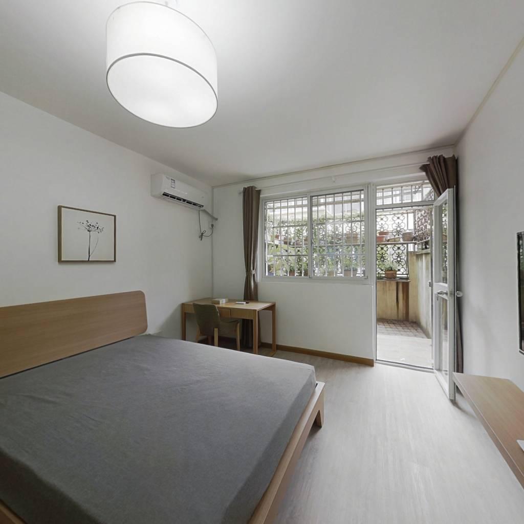 整租·莱阳北小区 1室1厅 南北卧室图