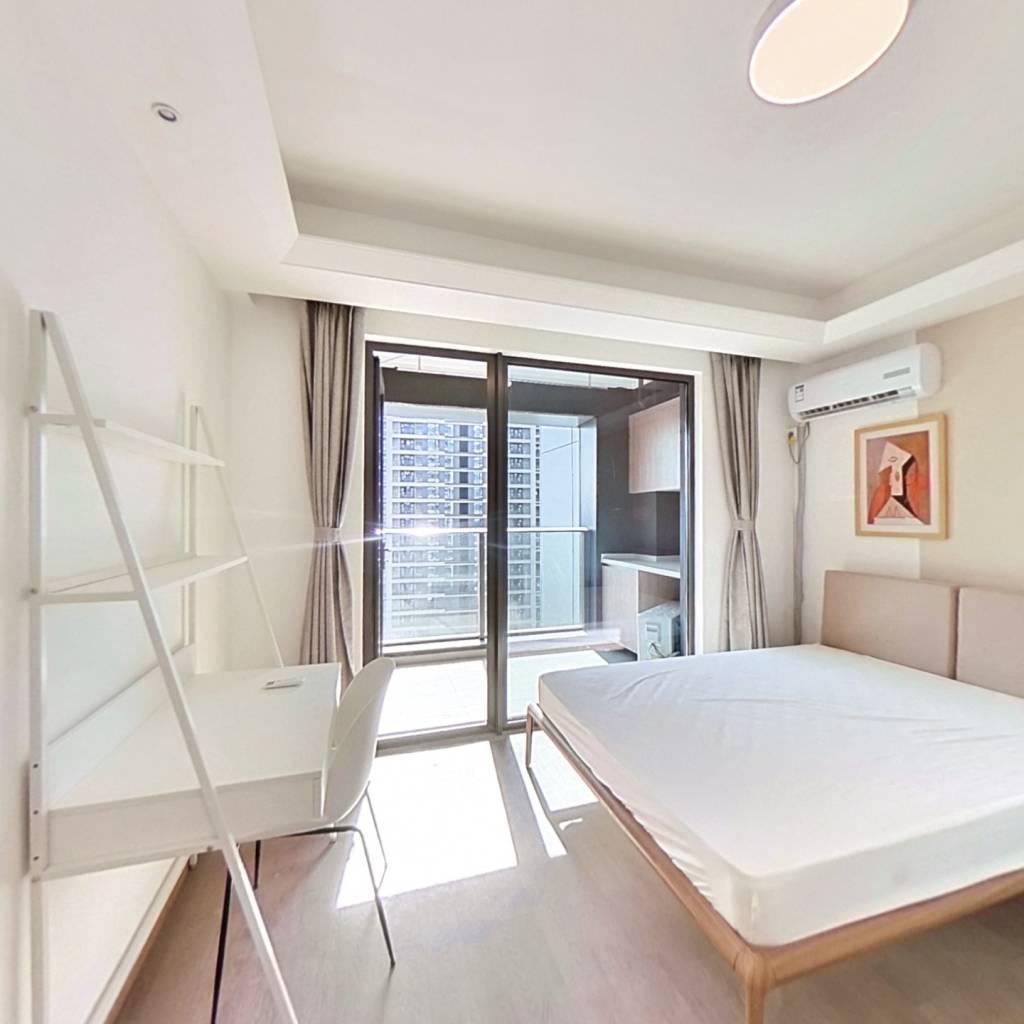 合租·东原印未来 4室1厅 南卧室图