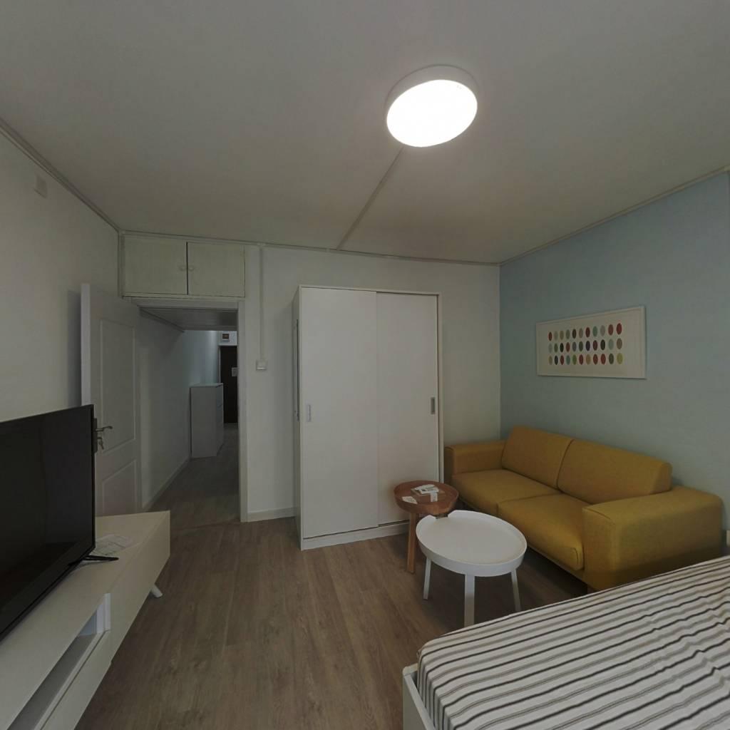 整租·车站西街17号院 1室1厅 南卧室图