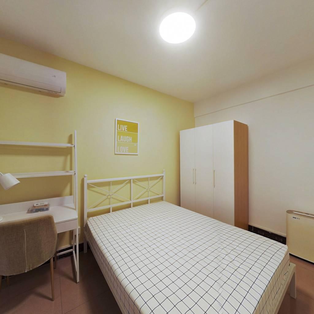 合租·员村公安宿舍 4室1厅 西卧室图