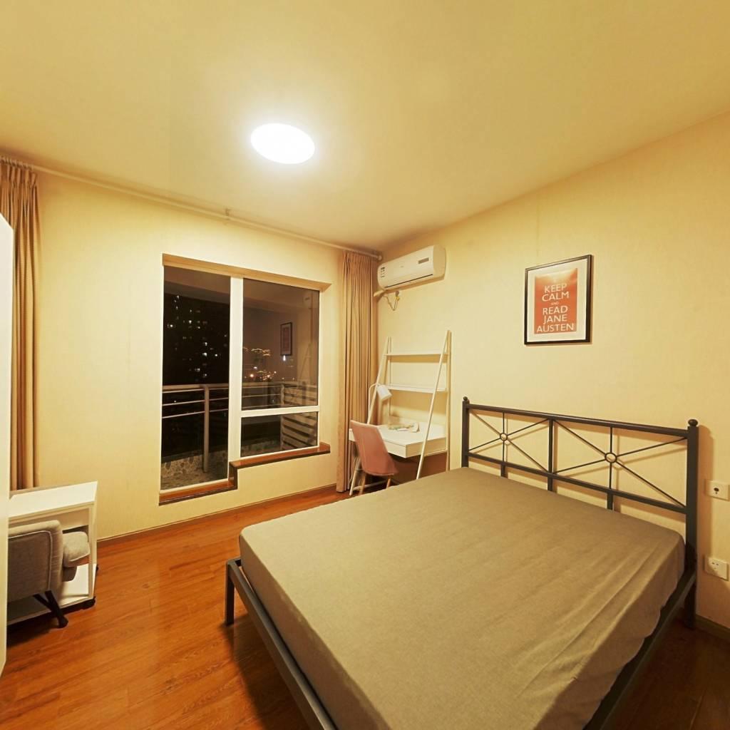 合租·远大都市风景三期 4室1厅 东卧室图