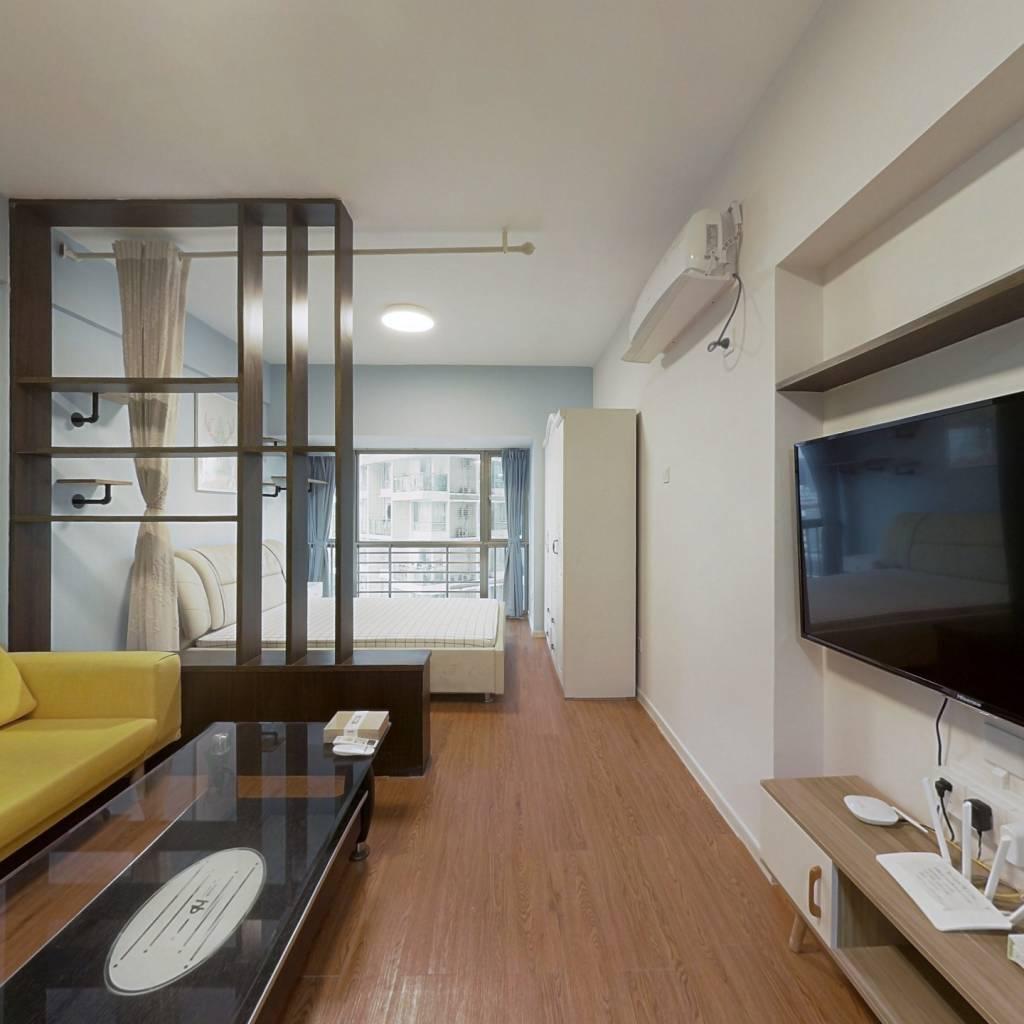 整租·新一代国际公寓 1室1厅 南卧室图