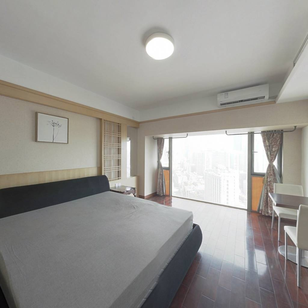 整租·港岛银座 1室1厅 东南卧室图