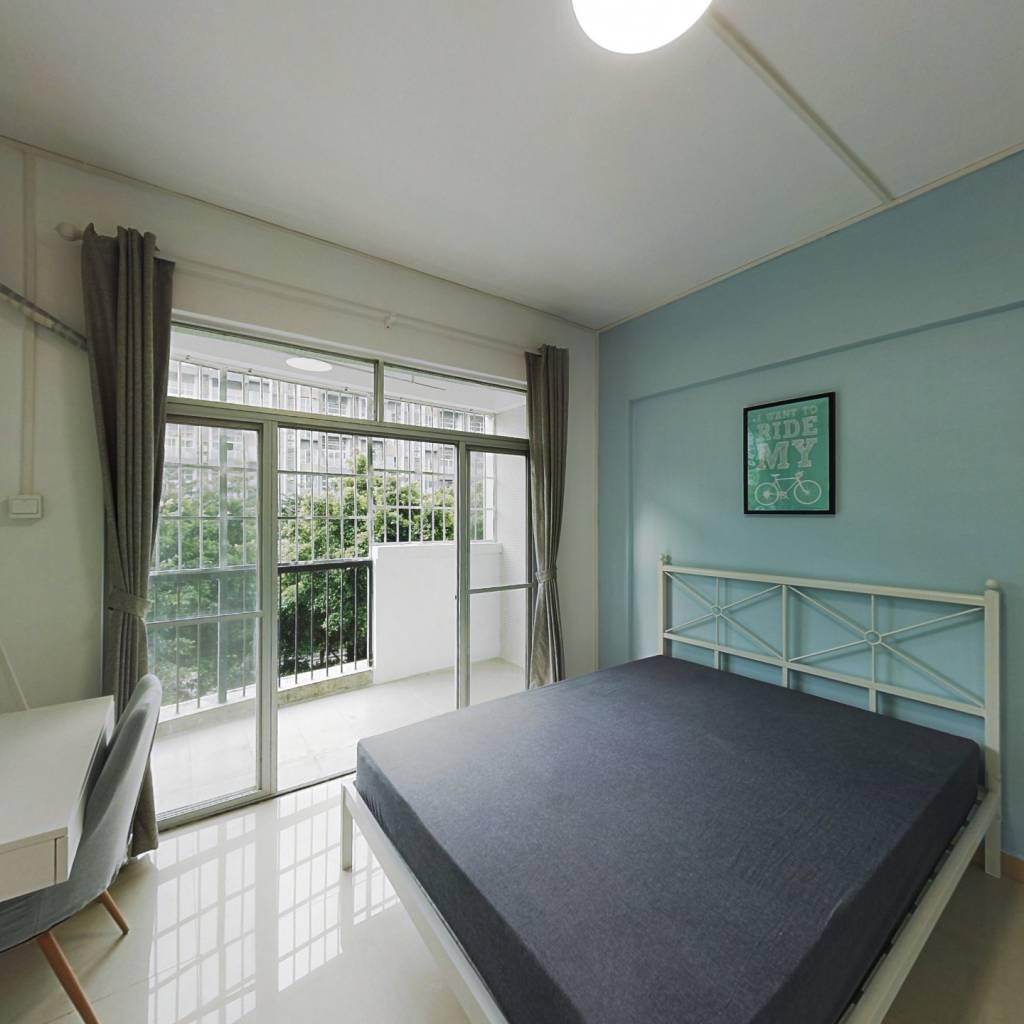 合租·集贤苑 4室1厅 南卧室图