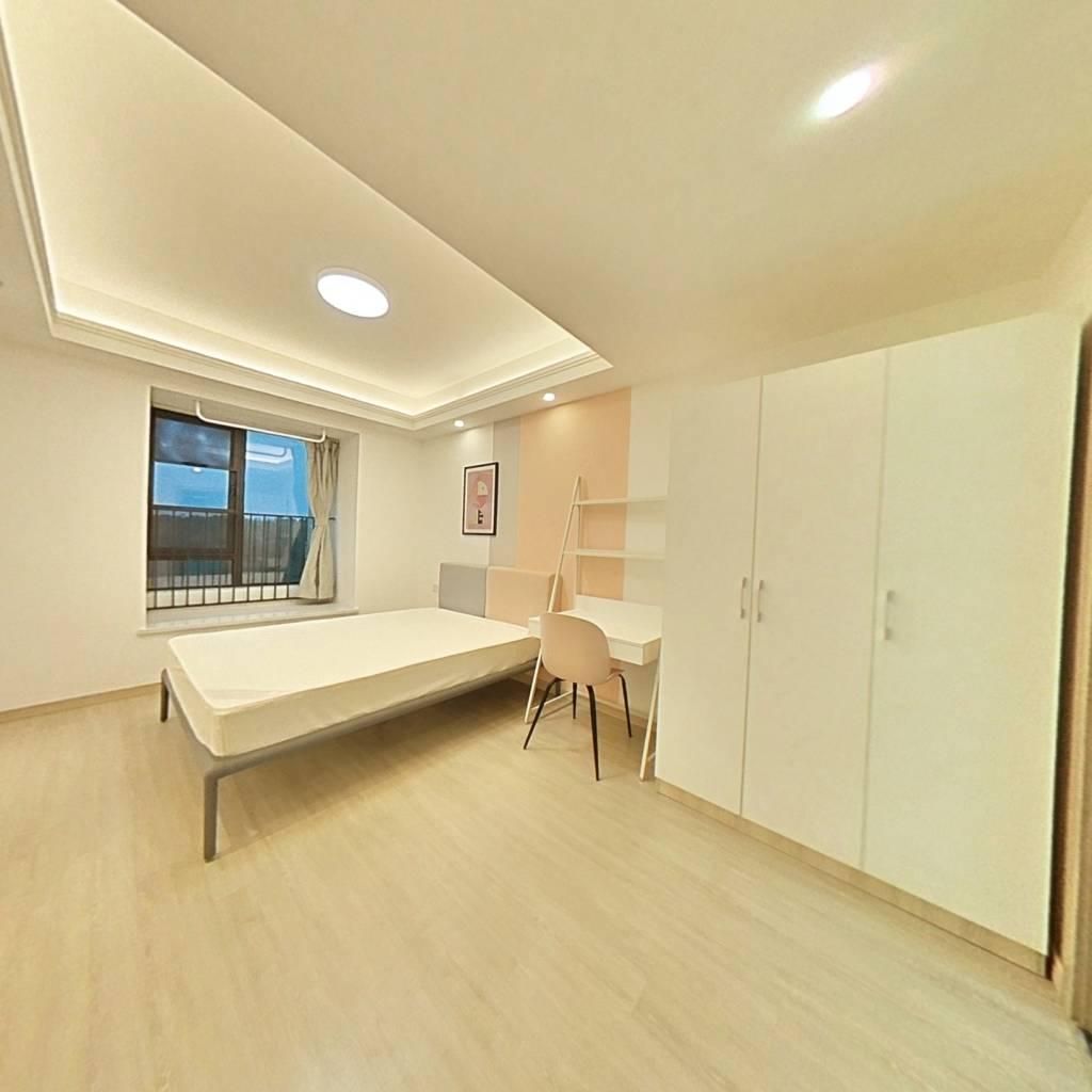 合租·光谷未来城 4室1厅 北卧室图