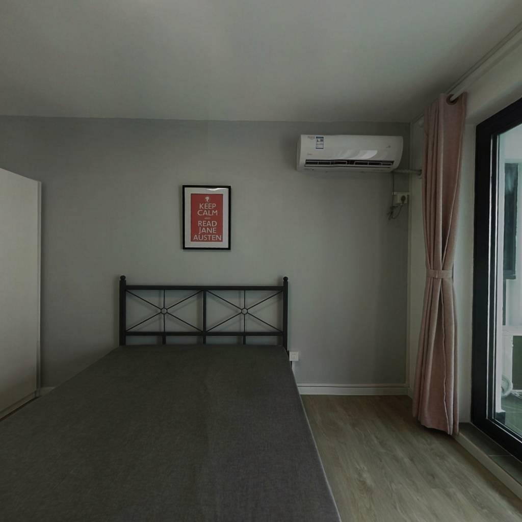 合租·华沁家园 3室1厅 南卧室图