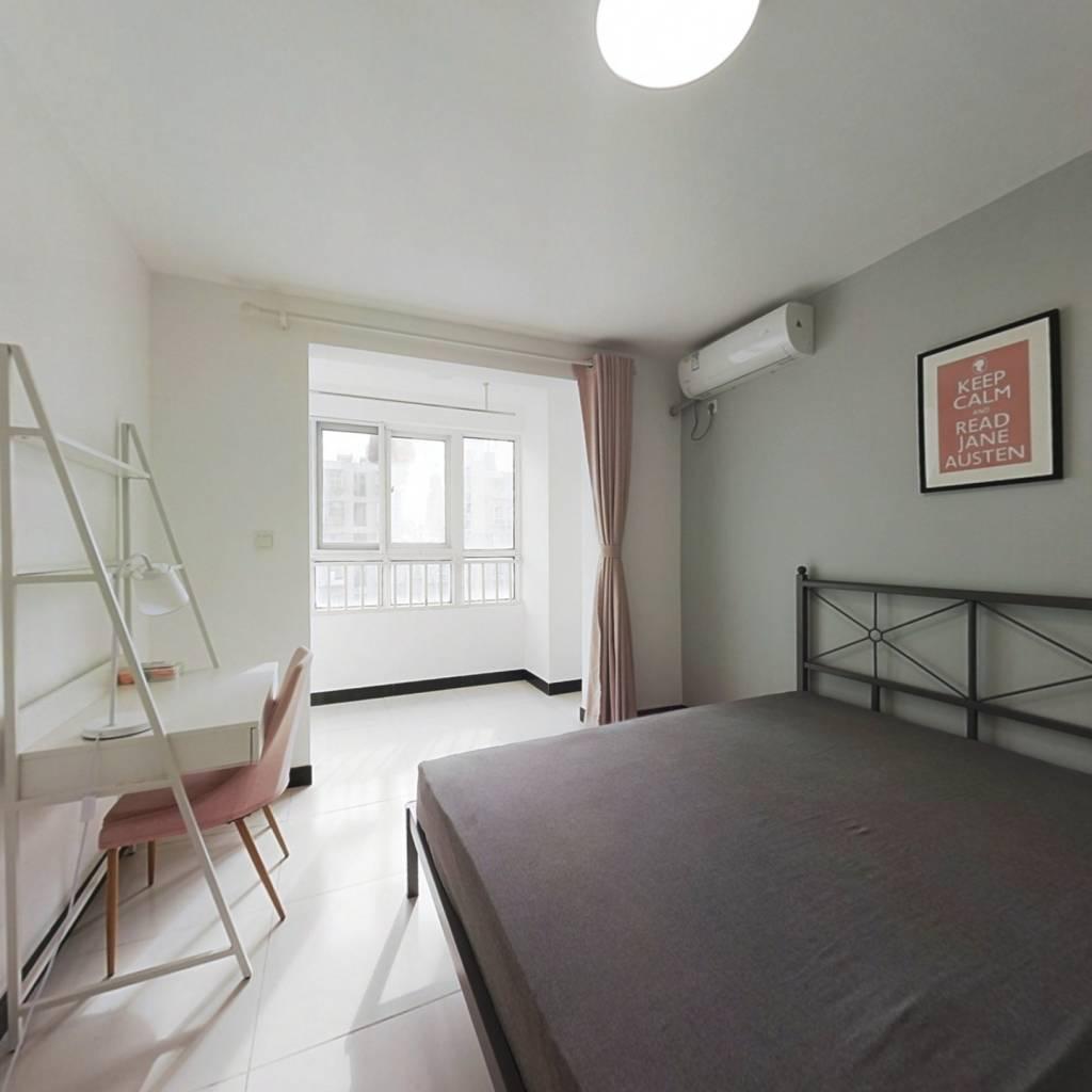 合租·春江新城新河苑一期 3室1厅 南卧室图
