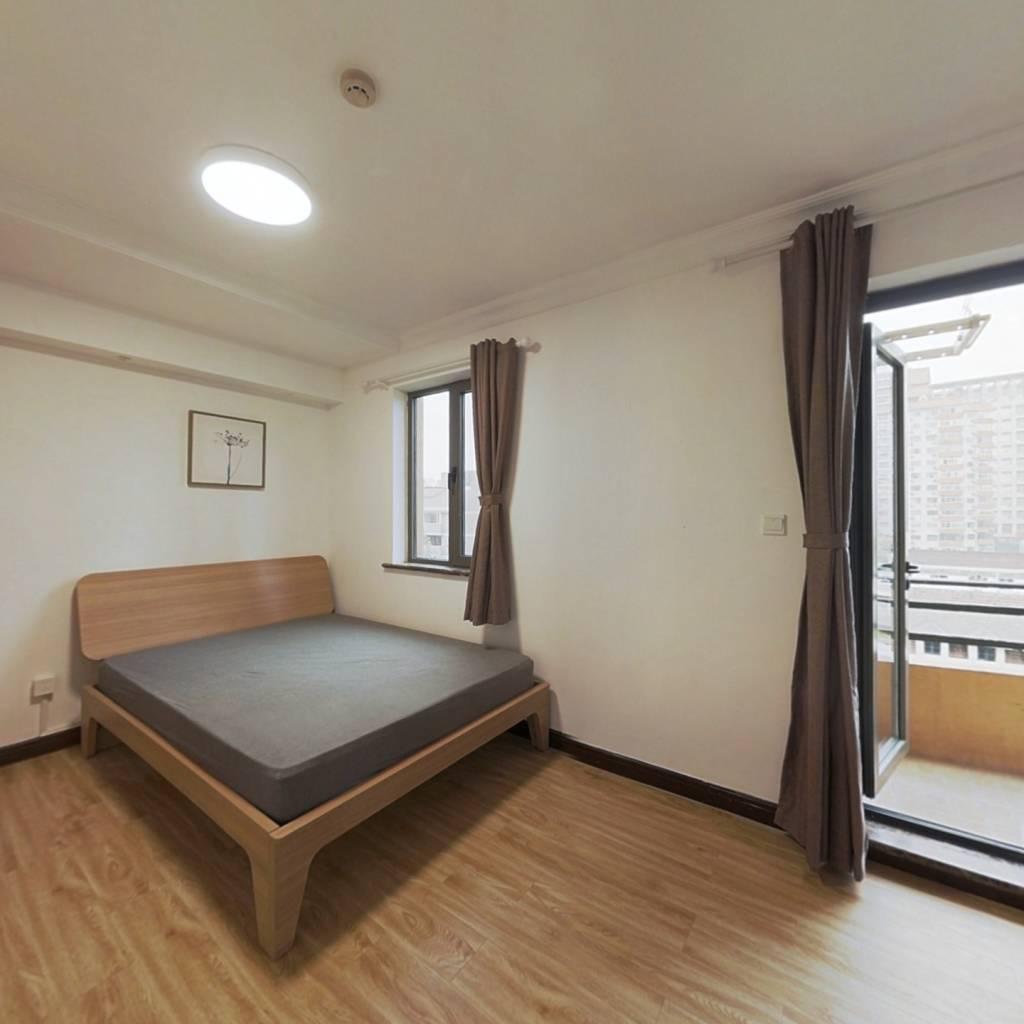 整租·领尚国际酒店公寓 1室1厅 北卧室图