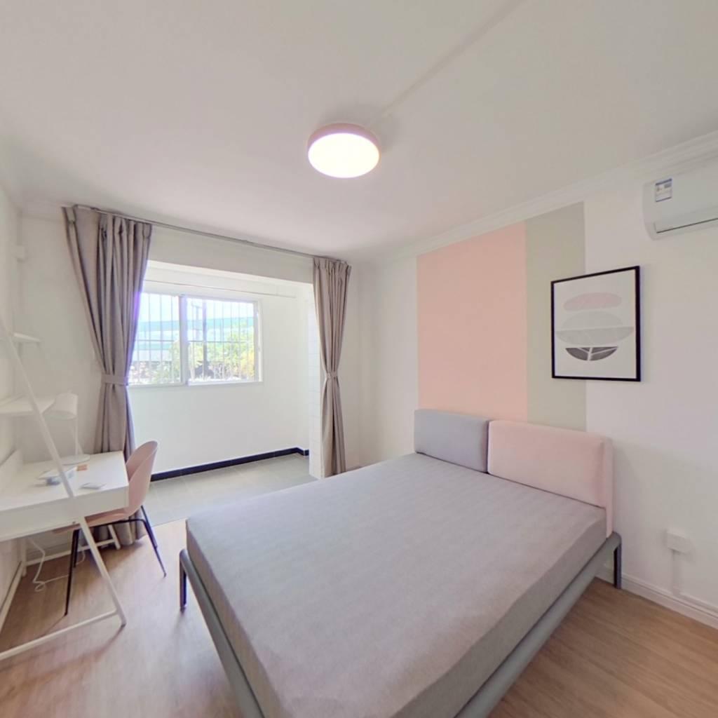 合租·锦城公寓(长宁) 3室1厅 北卧室图