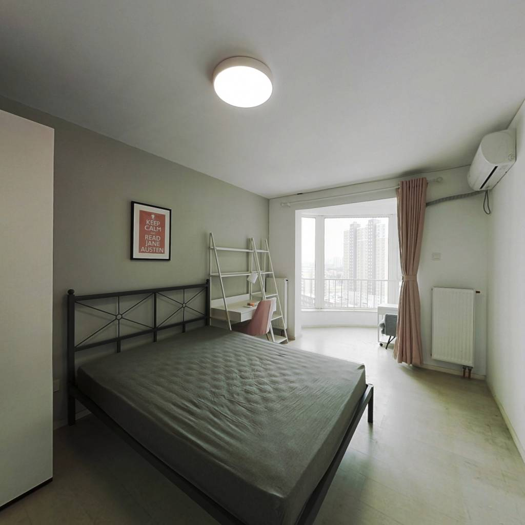 合租·京贸国际公寓 3室1厅 南卧室图