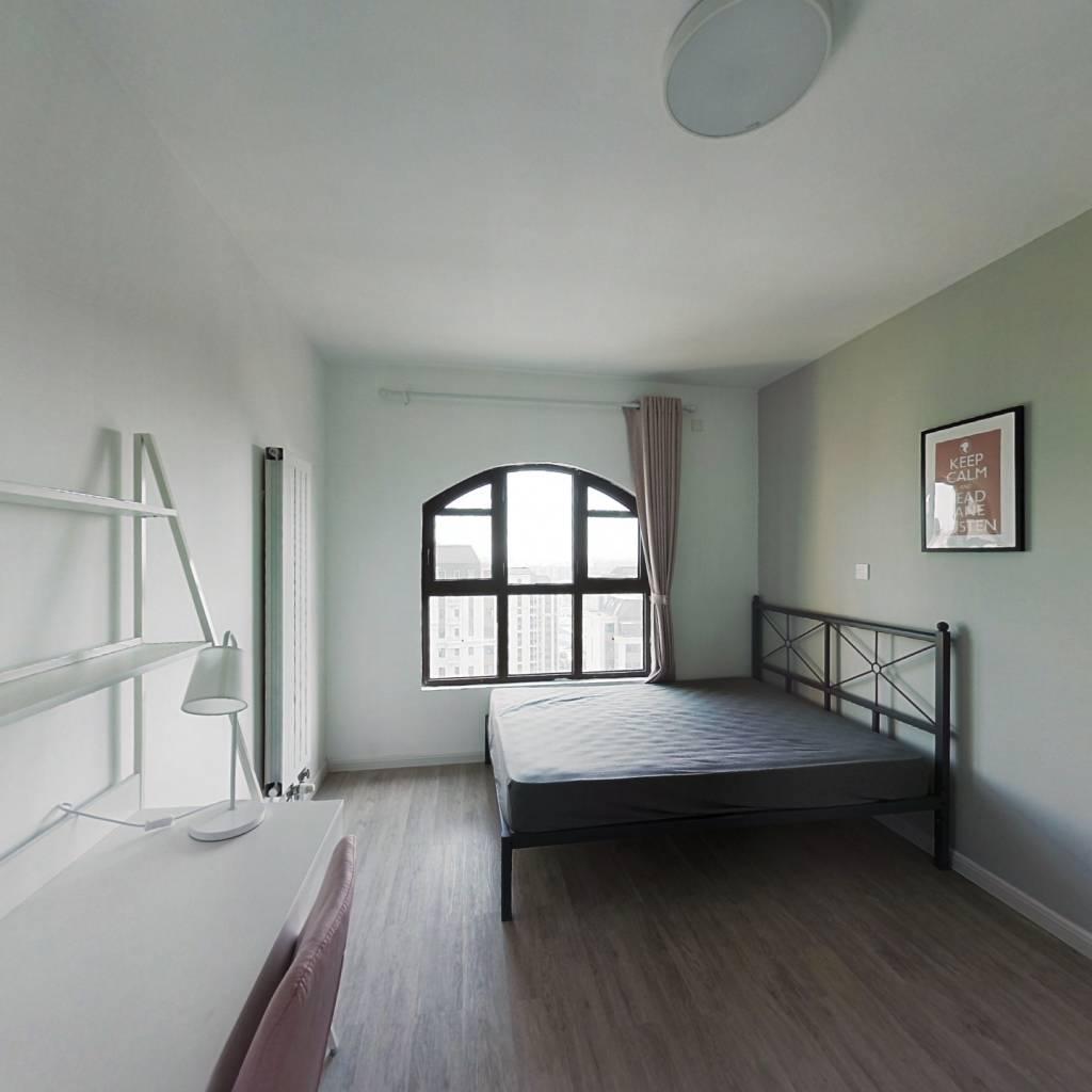 合租·海上国际城 3室1厅 东南卧室图
