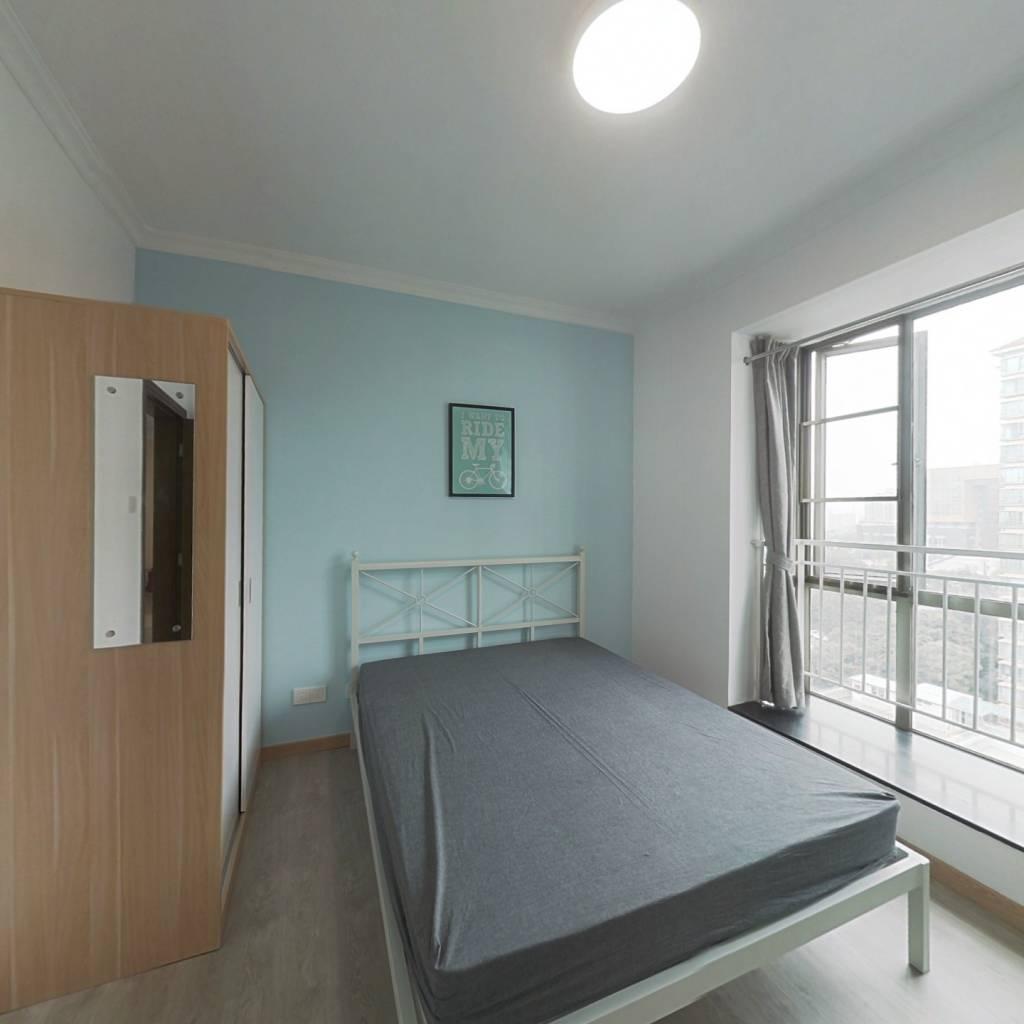 合租·金碧雅苑 4室1厅 南卧室图