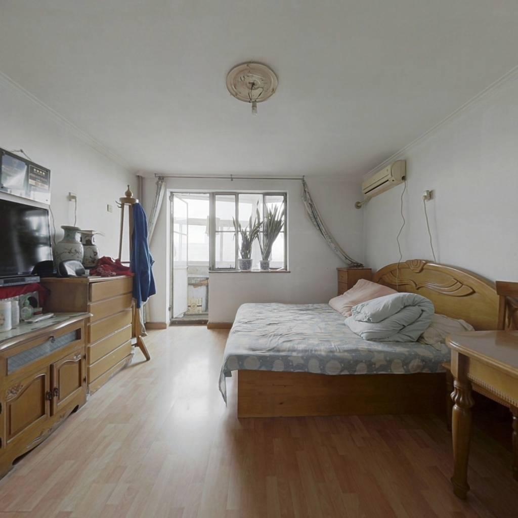 西城区单价低通透强视野好两居室