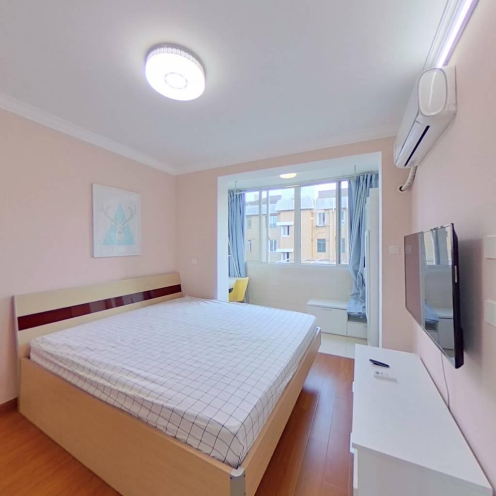整租·兰花小区 2室1厅 南卧室图