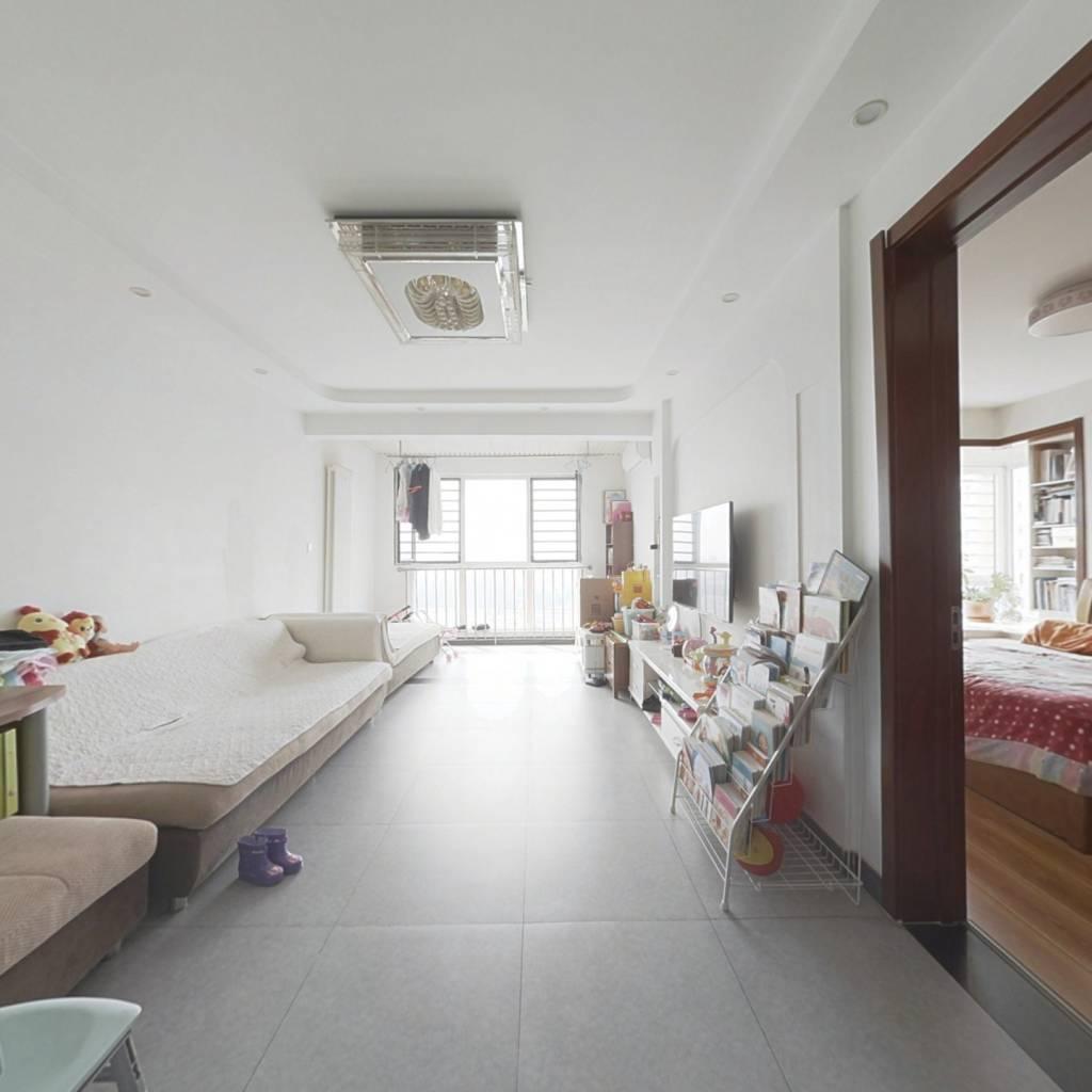 红木林朝南精装2居室  客厅朝南 诚心卖房
