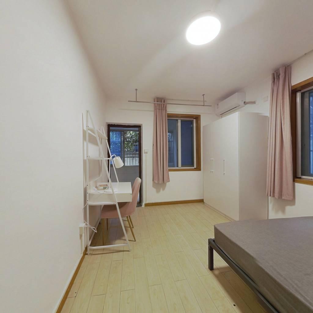合租·庆丰新村 3室1厅 北卧室图