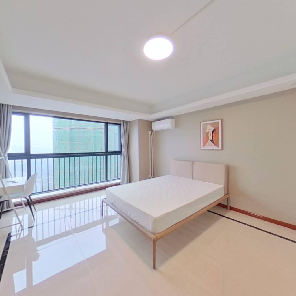 合租·滨江和城 5室1厅 西南卧室图