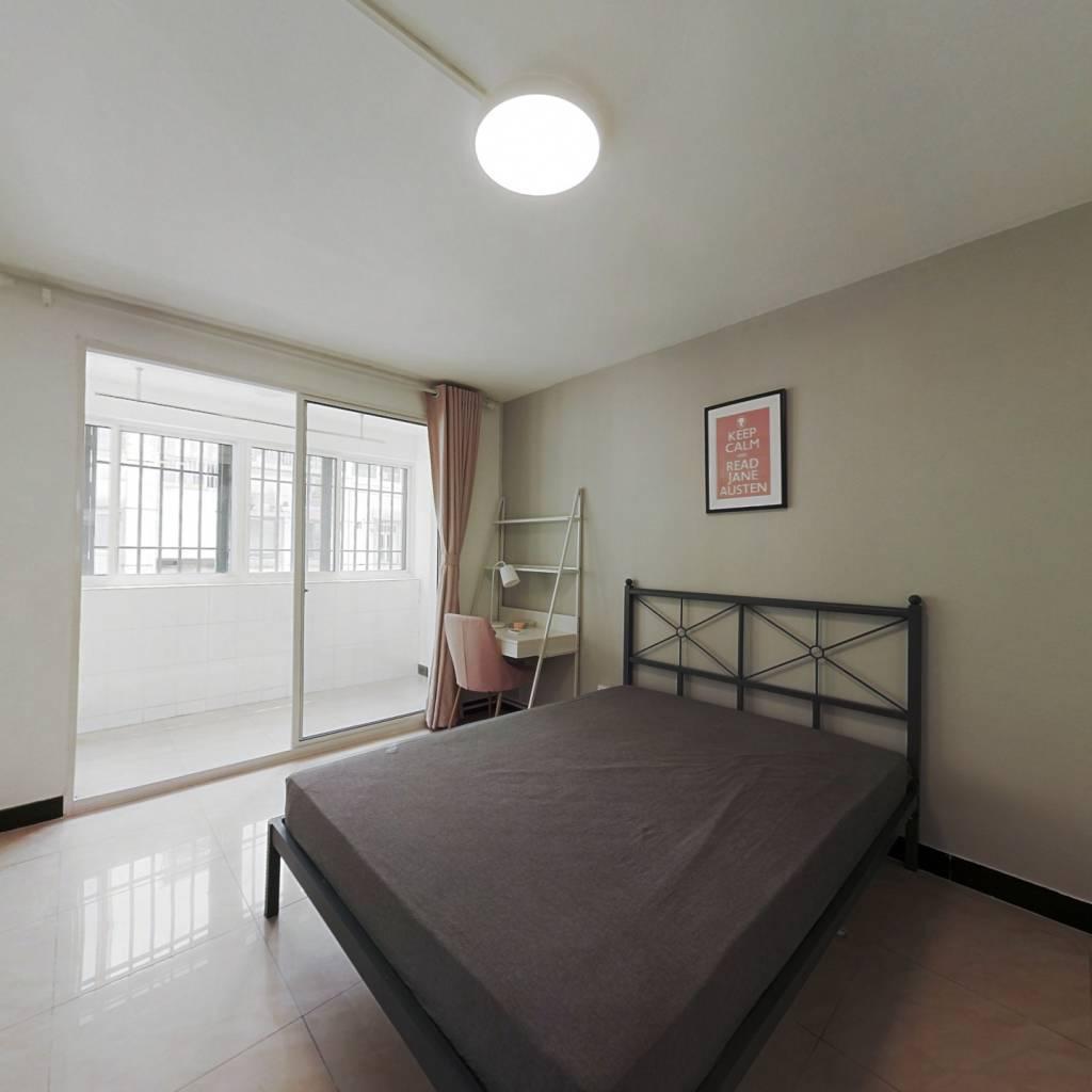 合租·豆菜桥小区 3室1厅 南卧室图