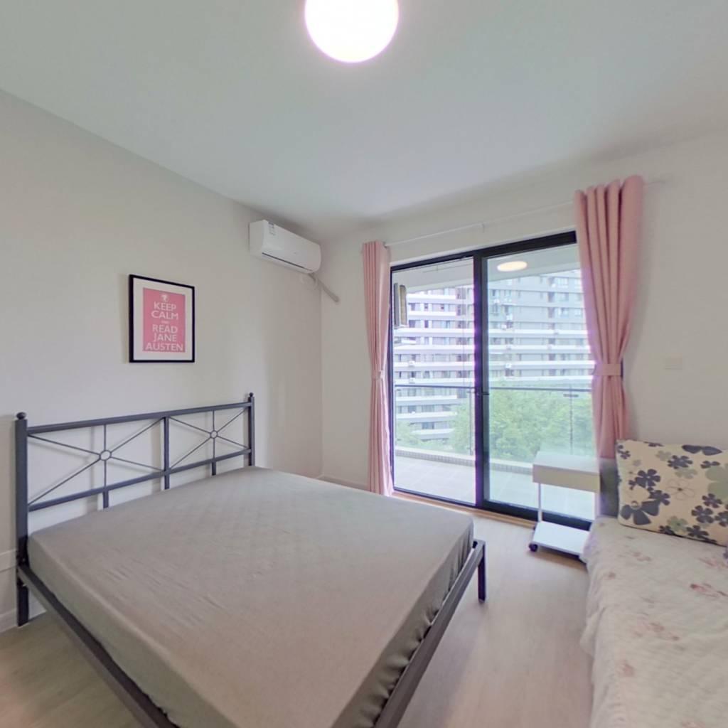 合租·大城际 4室1厅 东北卧室图