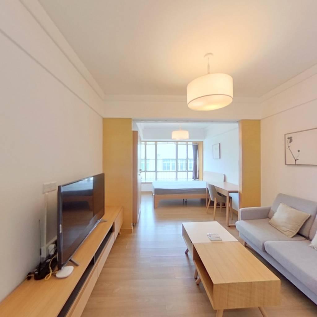 整租·财富港大厦 1室1厅 北卧室图