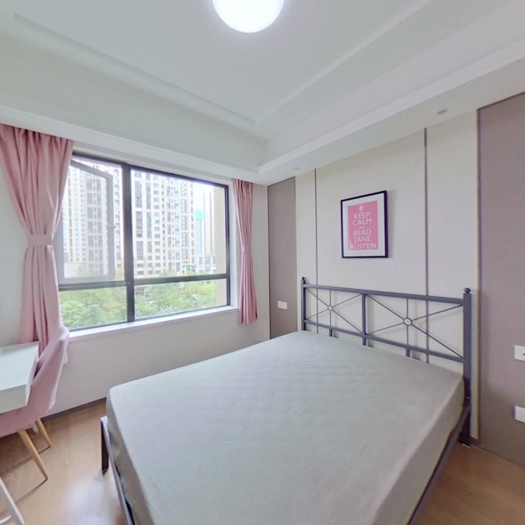 合租·鲁能城二期 4室1厅 东北卧室图