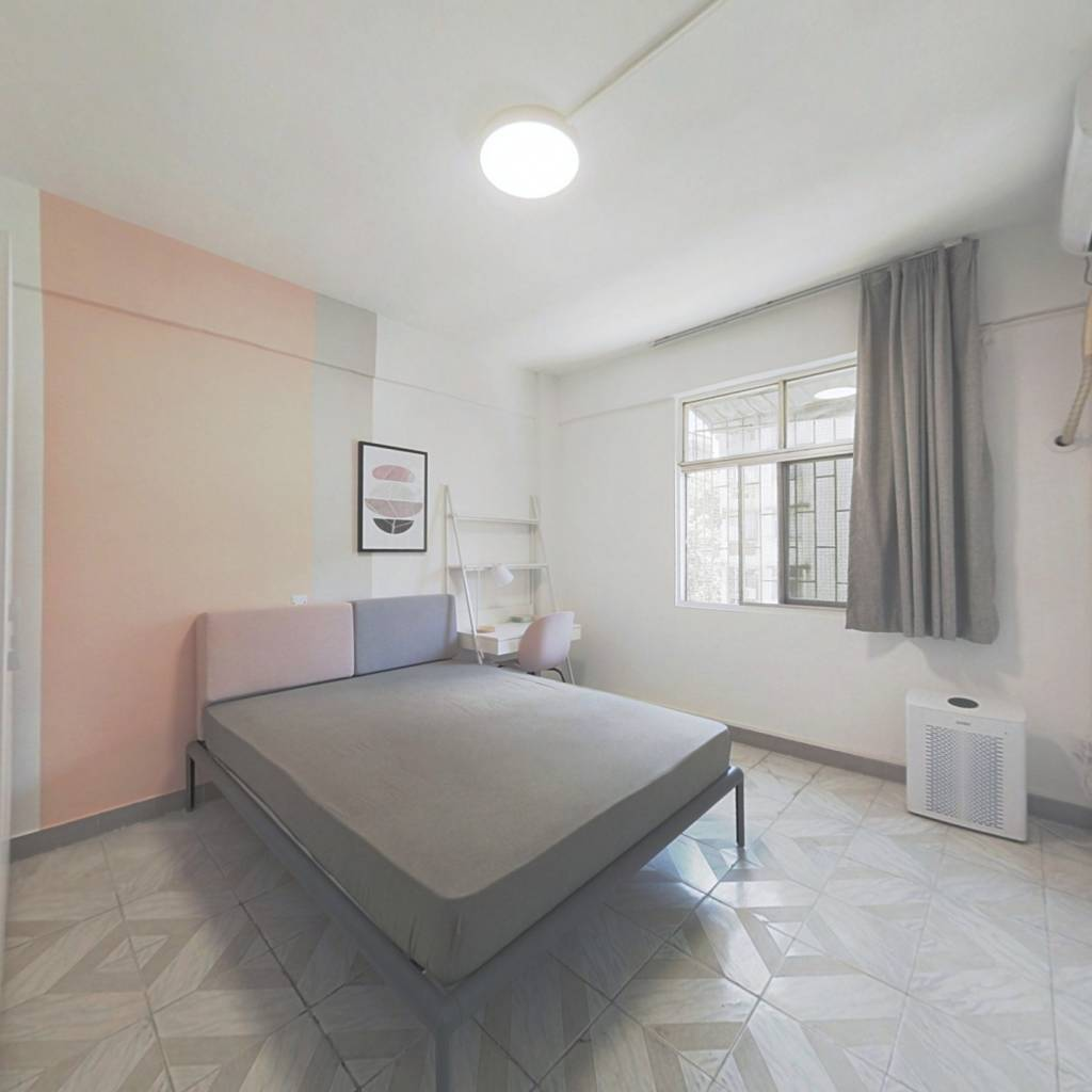 合租·宝民花园 4室1厅 东南卧室图