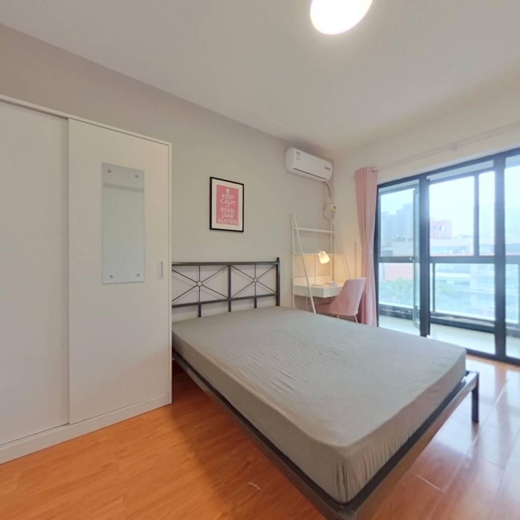合租·新华西美林公馆 3室1厅 南卧室图