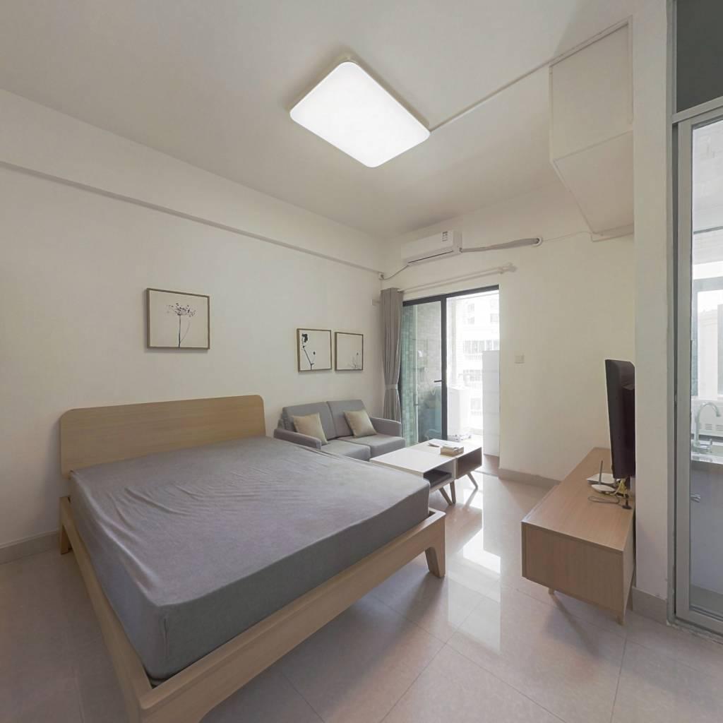 整租·西城品阁 1室1厅 南卧室图