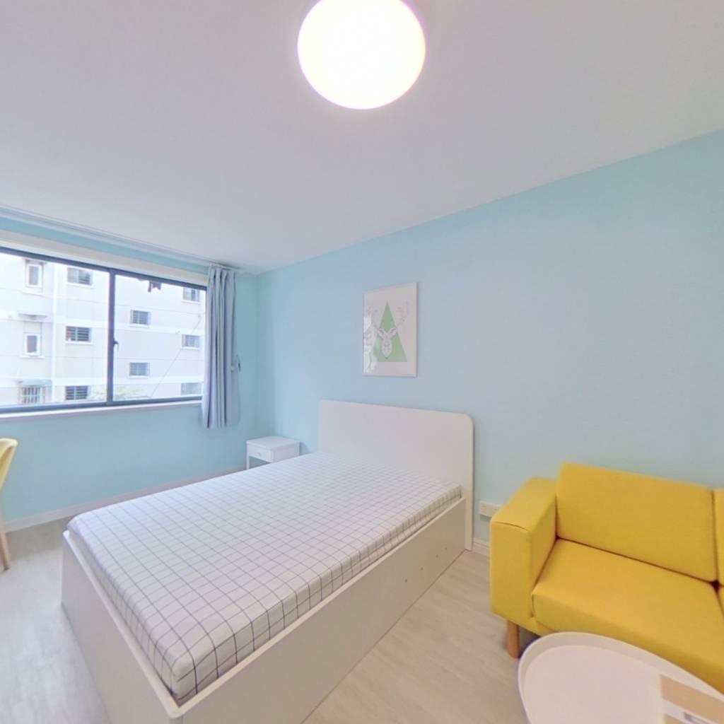 整租·安东小区 1室1厅 卧室图