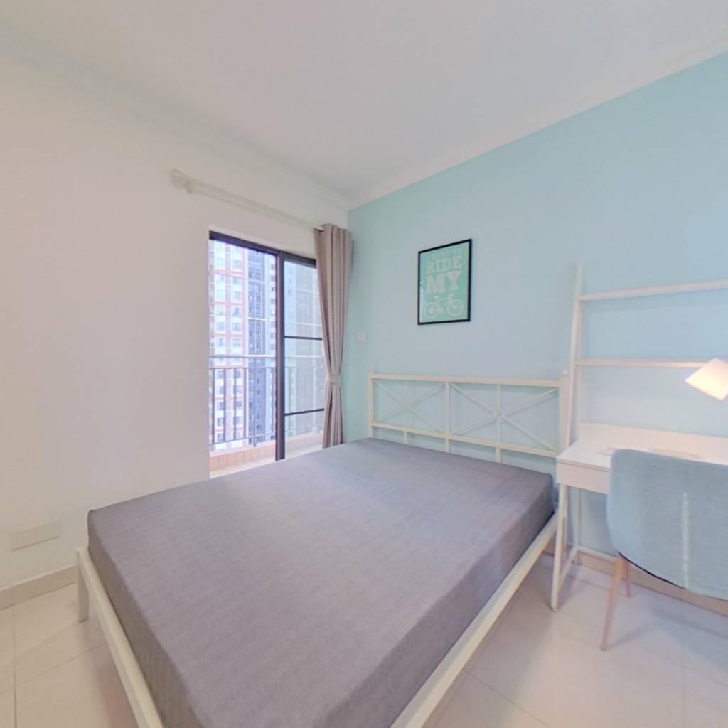 合租·文冲新村一、二期 3室1厅 北卧室图
