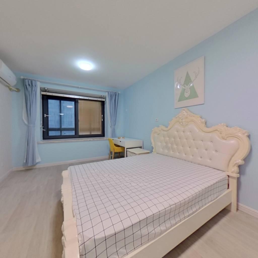 整租·圣天地服务式公寓 1室1厅 卧室图