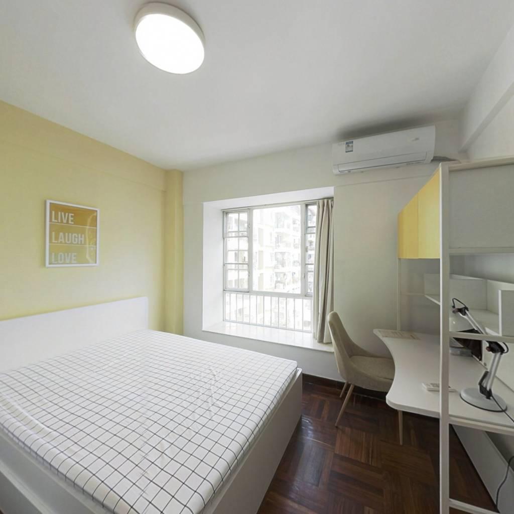 合租·海月花园一期 3室1厅 北卧室图
