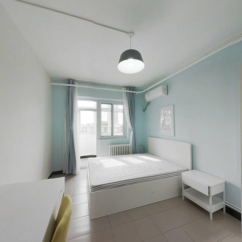 整租·紫光苑 1室1厅 西卧室图