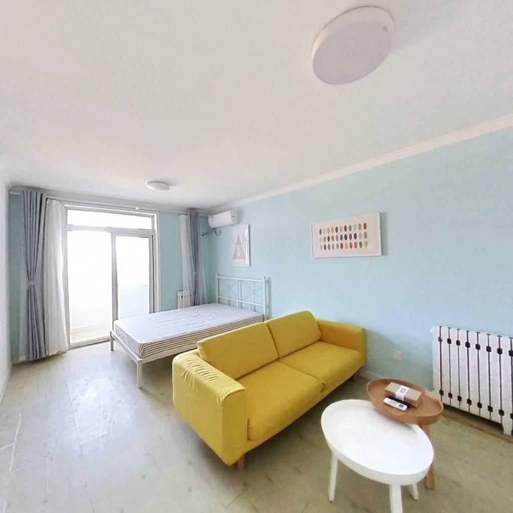 整租·流星花园二区 1室1厅 北卧室图