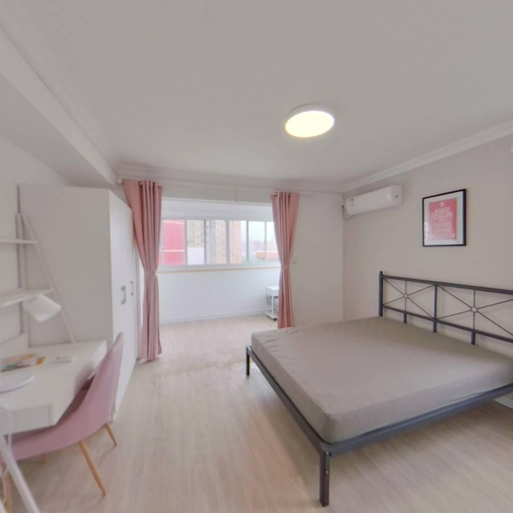 合租·锦南花苑 4室1厅 东北卧室图