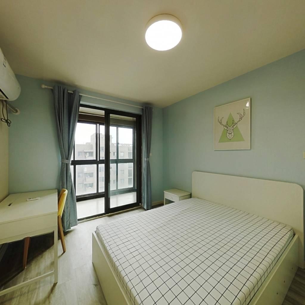 整租·馨佳园(菊泉街1398弄) 1室1厅 南卧室图