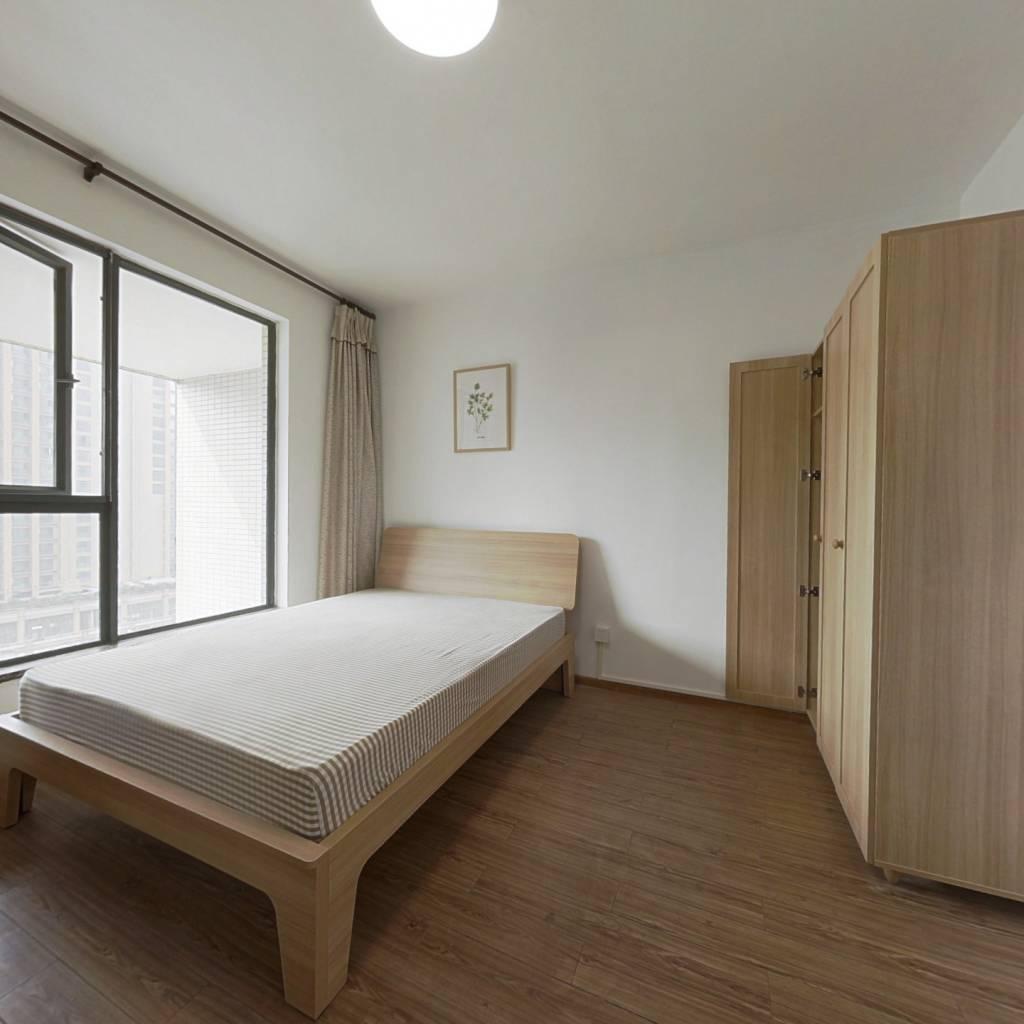 合租·龙湖三千里A区一期 3室1厅 西卧室图